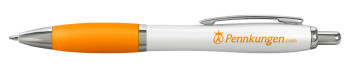 Titta närmare på pennan Nimbus White